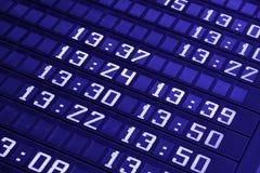 Schedule Stock Image