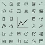 Schedule icon. Detailed set of minimalistic icons. Premium graphic design. One of the collection icons for websites, web design, m. Obile app on colored Royalty Free Stock Photo