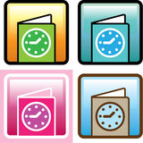 Schedule Icon vector Royalty Free Stock Image