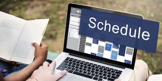 Schedule Organization Planning List To Do Concept Royalty Free Stock Photos