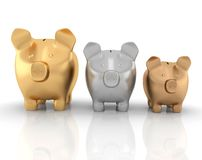 Schedule savings Stock Image