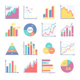 Schedules for business illustrations Royalty Free Stock Images