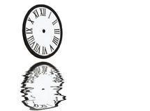Scheefgetrokken Betekenis van Tijd Stock Foto