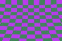 Scheefgetrokken perspectief gekleurd het effect van de controleursraad purper en groen net stock illustratie