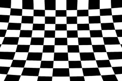 Scheefgetrokken perspectief gekleurd het effect van de controleursraad zwart-wit net royalty-vrije illustratie