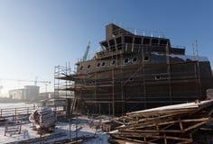 Scheepsbouw Stock Foto's
