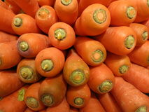 Scheffel Karotten Lizenzfreie Stockbilder