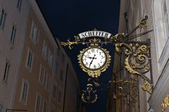 Scheffer, Salzburg Royalty-vrije Stock Foto's