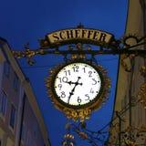 Scheffer, Salzburg Royalty-vrije Stock Foto