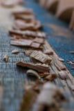 scheggia il legno Fotografie Stock
