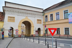 Schei gate, brasov Stock Photo