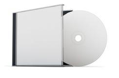 Scheibe der CD DVD Stockbilder
