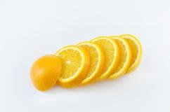 Scheibe der Orange Stockbild