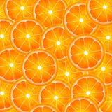 Scheibe der orange Musterabbildung Lizenzfreie Stockbilder