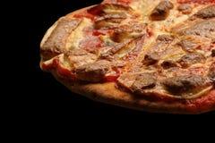Scheibe der Pizza lizenzfreie stockfotografie