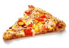 Scheibe der Pizza Lizenzfreies Stockfoto
