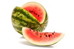 Scheibe der Wassermelone Lizenzfreies Stockfoto