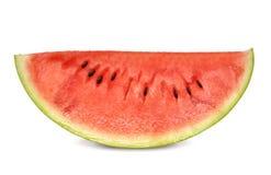 Scheibe der Wassermelone Stockfotos