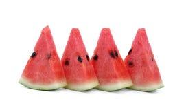 Scheibe der Wassermelone Lizenzfreie Stockfotos