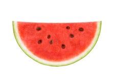 Scheibe der Wassermelone Stockfoto
