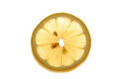 Scheibe der Zitrone Stockfotos