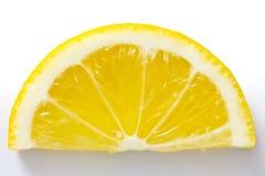 Scheibe der Zitrone lizenzfreies stockfoto