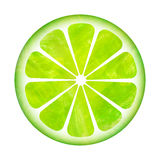 Scheibe der Zitroneanstrichabbildung Stockfotografie