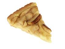 Scheibe des Apfelkuchens Lizenzfreies Stockbild