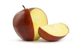 Scheibe des Apfels Lizenzfreies Stockfoto