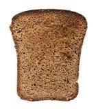 Scheibe des braunen Brotes Lizenzfreie Stockbilder