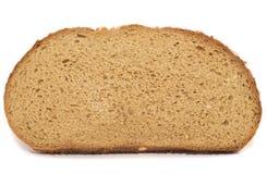 Scheibe des braunen Brotes Lizenzfreies Stockbild