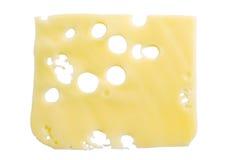 Scheibe des Käses Stockfotos