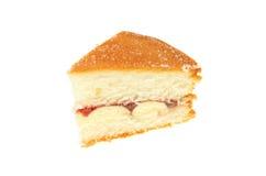 Scheibe des Kuchens stockbild