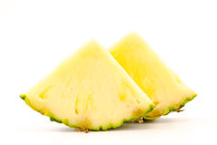 Scheibe von Ananas Lizenzfreies Stockbild
