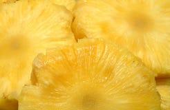 Scheiben der frischen Ananas Lizenzfreies Stockbild