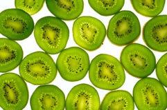 Scheiben der Kiwi stockfoto