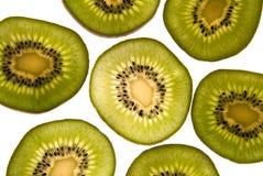 Scheiben der Kiwi. Stockbilder