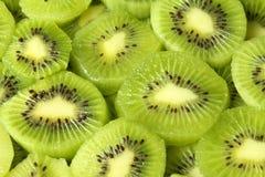 Scheiben der Kiwifrucht Stockfotografie