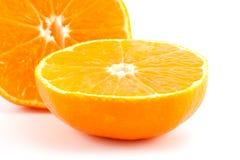 Scheiben der Mandarine oder der Tangerine Lizenzfreie Stockfotos