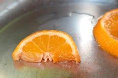 Scheiben der Orange Stockfoto