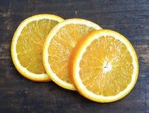 Scheiben der Orange Lizenzfreies Stockfoto