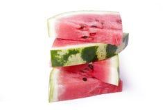 Scheiben der Wassermelone stockbilder