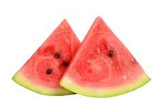 Scheiben der Wassermelone Lizenzfreie Stockfotos