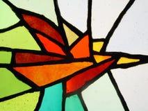 Scheiben des Farbenglases stockfoto
