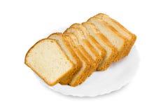 Scheiben des frischen Brotes Lizenzfreies Stockbild