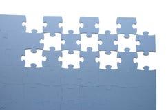 Scheiben des Puzzlespiels Stockfotografie