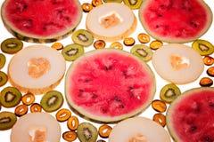 Scheiben-Frucht Stockfotografie