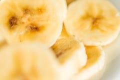 Scheiben von Bananen Lizenzfreies Stockfoto