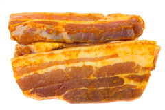 Scheiben von pork4 lizenzfreie stockfotografie