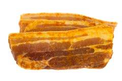 Scheiben von Schweinefleisch lizenzfreies stockfoto